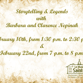 Storytelling & Legends with Barbara and Clarence Nepinak