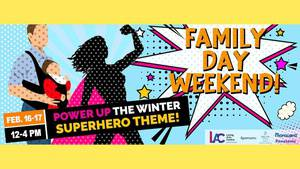 Family Day 2020 - Free - Power Up The Winter!