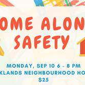 Home Alone Safety (9-12 yrs)