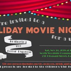 Kids Christmas Movie Night for A Wish