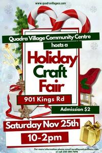 3rd Annual Holiday Craft Fair