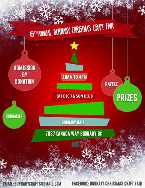 6th Annual Burnaby Christmas Craft Fair