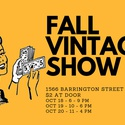 Fall Vintage Show