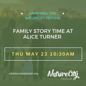 Family Story Time at Alice Turner Library