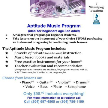 Tauber Music School's promotion image