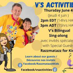 Bilingual Sing-Along with Special Guests Razzmatazz for Kids
