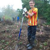Planting at Powell Butte Nature Park in SE PDX