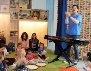 Musical Storytime at KidsQuest