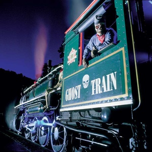 Ghost Train in Stanley Park