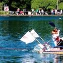 The Royal Rosarians Milk Carton Boat Race