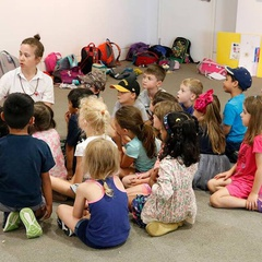 Storytime in the Gallery