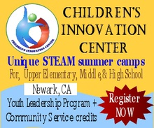 Children's Innovation Center summer camps - Session 2 – July 9 to July 27, 2018 (3 weeks)
