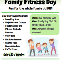Famiy Day Drop IN