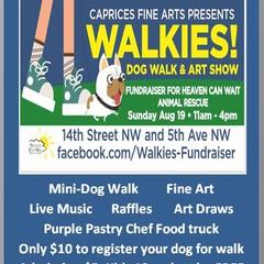 WALKIES! Dog Walk & Art Show Fundraiser