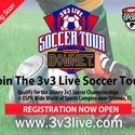 3v3 LIVE Soccer Tour