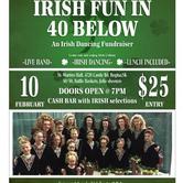 Irish Fun in 40 below