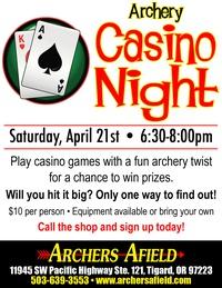 Archery Casino Night