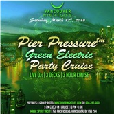Green Electric St. Patrick's Day Weekend Pier Pressure White Party Cruise