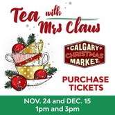 Tea with Mrs. Claus