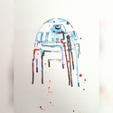 Star Wars - R2D2 Watercolour Painting
