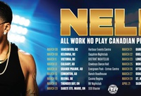 """NELLY """"ALL WORK NO PLAY"""" CONCERT"""