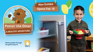 Exhibit Opening   Potter the Otter: A Healthy Adventure