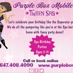 Purple Box Mobile Tween Spa