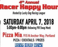 4th Annual Lucky Dog Racer Happy Hour / Portland Swap Meet