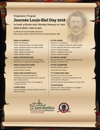 Louis-Riel Day @ Musée de Saint-Boniface Museum