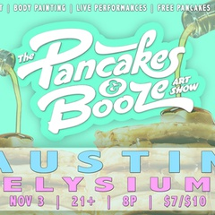 The Austin Pancakes and Booze Art Show
