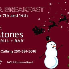 Breakfast with Santa @ Millstream Village!