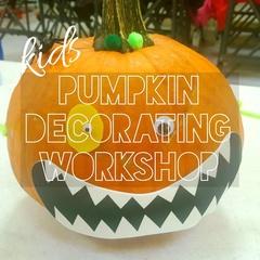 Kids Pumpkin Decorating Workshop