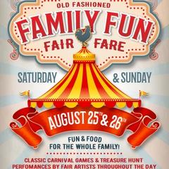 Family Fun Fair-Fare