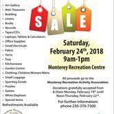 Monterey Rummage Sale