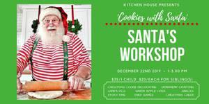 Santa's Workshop - Cookies With Santa!