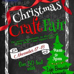 Lake Bonavista Christmas Craft Fair