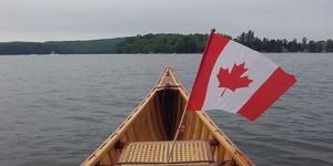 Canada Day at the Lake