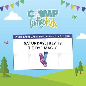 Camp Indigo: Tie Dye Magic | 5+
