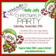 NJADS Holly Jolly Christmas PJ Party!