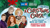 Ross Petty presents A Christmas Carol, The Family Musical with a Scrooge Loose!