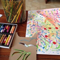 FAMILY SUNDAY: DRAWING TO IMPLY MOTION