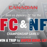 AFC & NFC Championship Action!