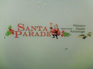Sacramento Santa Parade
