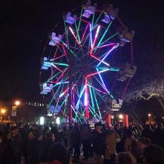 Christmas Ferris Wheel in Gore Park
