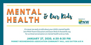 Mental Health & Our Kids