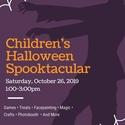 Children's Halloween Spooktacular