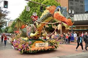 Spirit Mountain Casino Grand Floral Parade