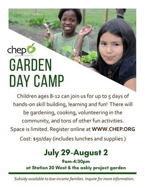 CHEP Garden Day Camp