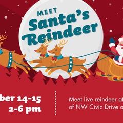 Live Reindeer Meet & Greet at Gresham Station