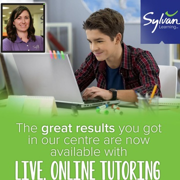 Sylvan Learning's promotion image